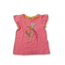 92-es rózsaszín kolibris póló - Kiki & Koko - ÚJ