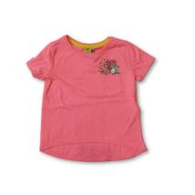 92-es rózsaszín zsebes flitteres póló - Kiki & Koko - ÚJ