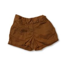 110-es barna lány vászon short - Next