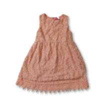 116-os rózsaszín csipkeruha, alkalmi ruha - Kiki & Koko - ÚJ