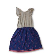 170-176-os szürke-kék ananászos ruha - Y.F.K - ÚJ