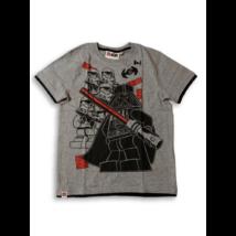 140-es szürke alapon mintás póló - Star Wars - ÚJ