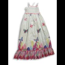 128-as fehér lepkés nyári ruha - Marks & Spencer