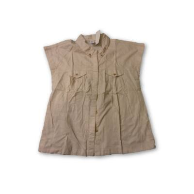 116-os drapp ujjatlan blúz - Zara