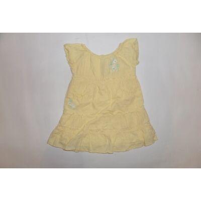 80-as sárga virágos ruha
