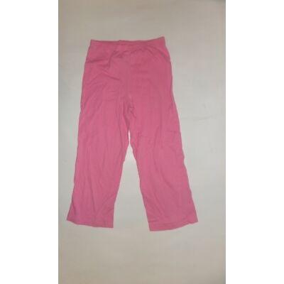 116-122-es rózsaszín pizsamaalsó