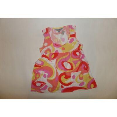 152-es rózsaszín-sárga ujjatlan póló - Young Dimension
