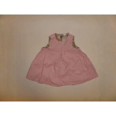 74-es rózsaszín pöttyös kord ujjatlan ruha - H&M
