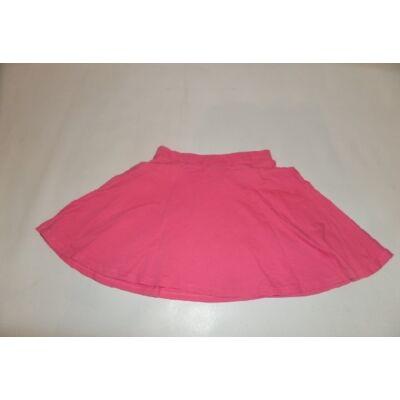 128-as rózsaszín pamut szoknya - H&M