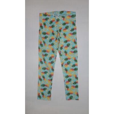104-es zöld ananászos leggings - Pepco - ÚJ