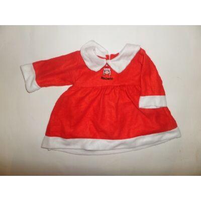 1-1,5 évesre Mikulás ruha, jelmez