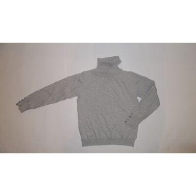 128-as szürke lány kötött pulóver - Zara