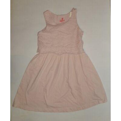 146-152-es rózsaszín csipkés ujjatlan ruha - Pepperts
