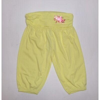 92-es sárga pillangós pamutnadrág - Kiki & Koko - ÚJ