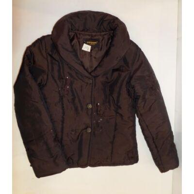 152-es barna hímzett elegáns kabát