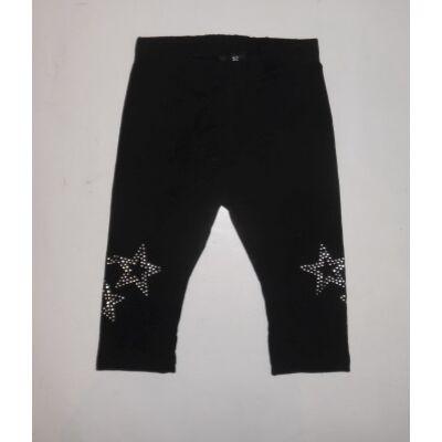 92-es fekete csillagos leggings - Kiki & Koko - ÚJ