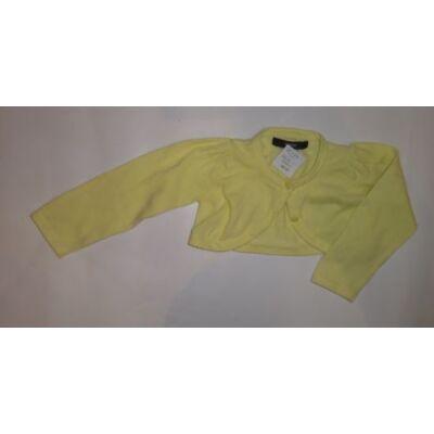 80-86-os sárga kötött boleró - George