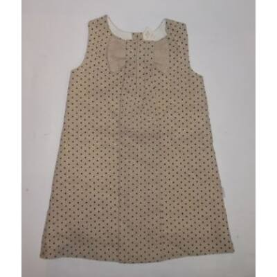 110-es drapp pöttyös alkalmi ruha - Andy Wawa