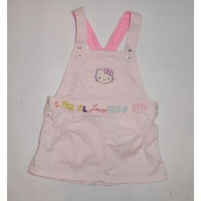 80-as rózsaszín kantáros nyári ruha - H M Hello Kitty - felicity.hu ... edc290a4da