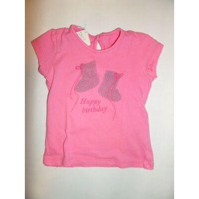 74-es rózsaszín lány póló - Benetton