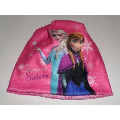 40-42 cm-es fejre rózsaszín sapka - Frozen, Jégvarázs - ÚJ
