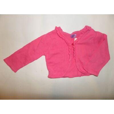 98-as rózsaszín kötött boleró - F&F