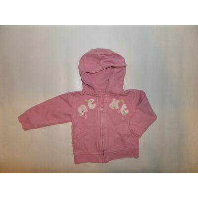 92-es rózsaszín pamut kardigán - Next
