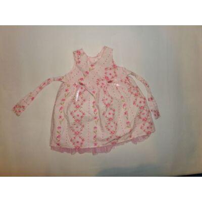 68-as rózsaszín virágos nyári ruha - St. Bernard