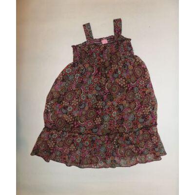 92-es barna virágos pántos ruha - Adams
