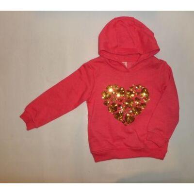 98-as rózsaszín flitteres pulóver - X-Mail - ÚJ