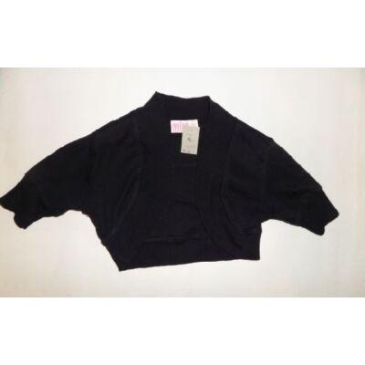 122-es fekete rövidujjas boleró