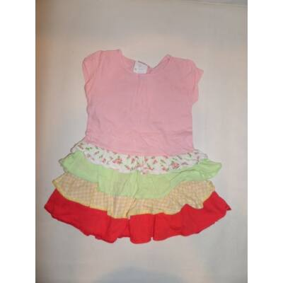 92-es szines fodros ruha - Cherokee