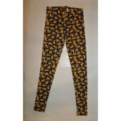 158-as fekete kacsás leggings - Looney Tunes - ÚJ
