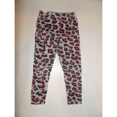 98-104-es leopárdmintás leggings - George