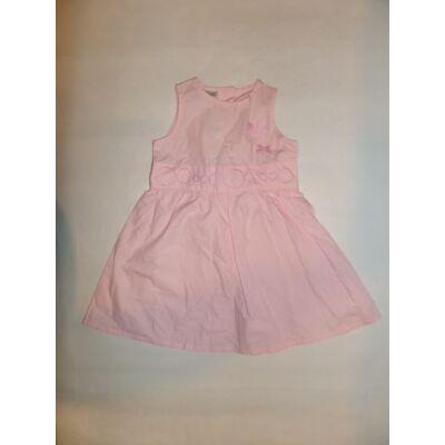 98-as rózsaszín virágos ujjatlan ruha - Active Club - ÚJ