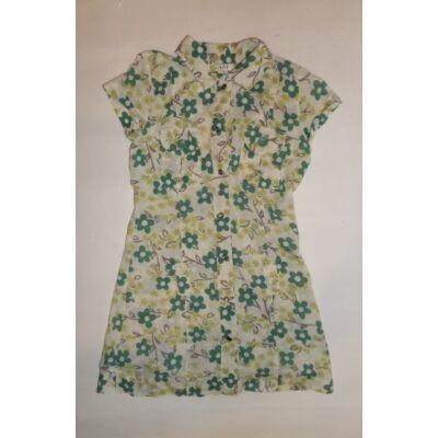 122-es zöld virágos ruha - George