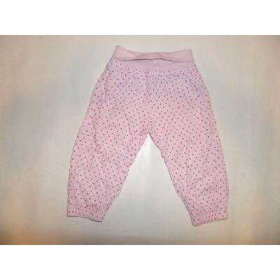 80-as rózsaszín pöttyös kordnadrág - Lupilu