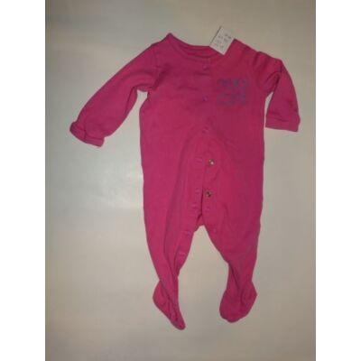 68-as rózsaszín feliratos hosszúujjú rugi