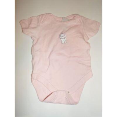 62-es rózsaszín cicás rövidujjú body