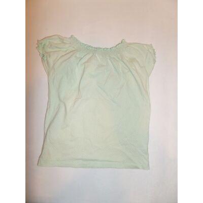 110-es zöld pöttyös póló - TU