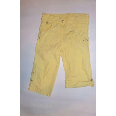 122-es sárga capri nadrág - C&A