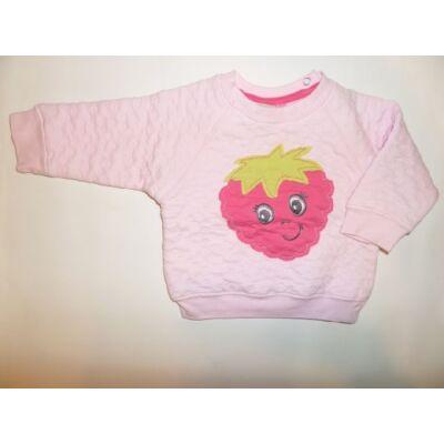 80-as rózsaszín epres pulóver - Ergee