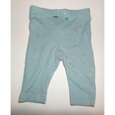 56-62-es kék lány leggings