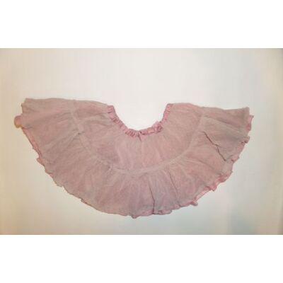 74-es rózsaszín fodros szoknya - H&M