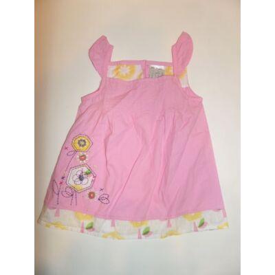 86-92-es rózsaszín virágos ruha - Ladybird