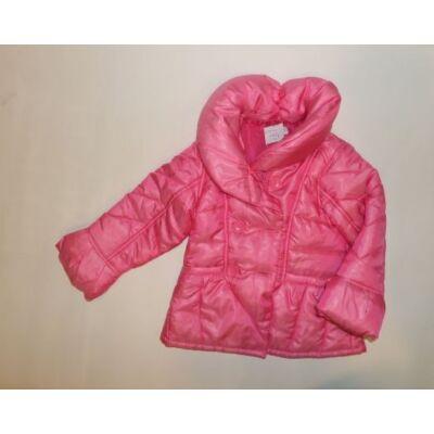 98-as fényes rózsaszín télikabát - F&F