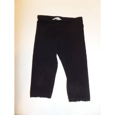 98-as fekete térdig érő leggings - H&M
