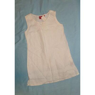 122-es fehér ujjatlan ruha - H&M