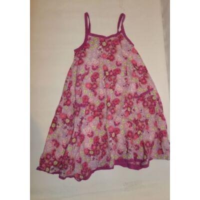 128-as virágos spagettipántos ruha - Vynil Fraise