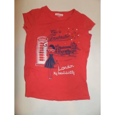 152-es piros lányos póló - In Extenso